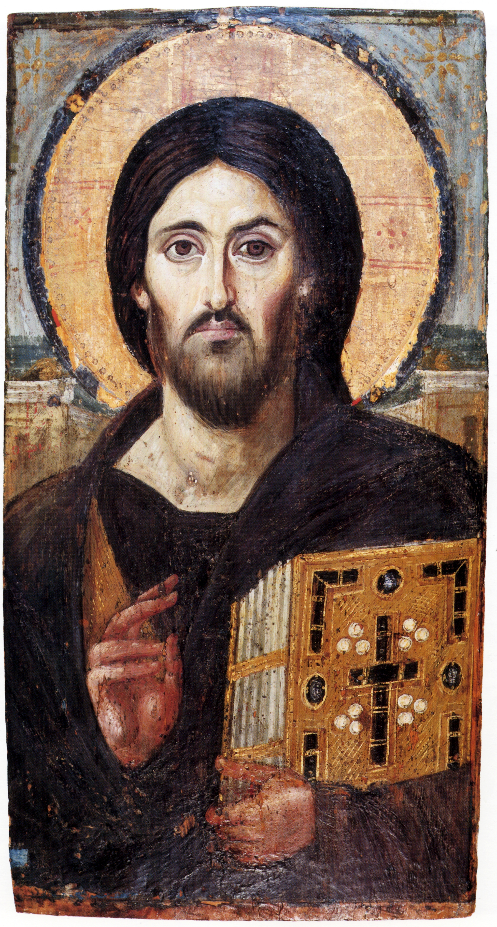 Icon of the Christ of Sinai