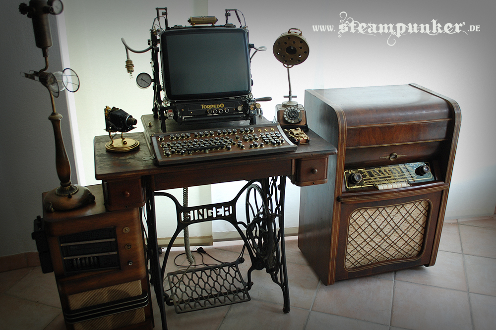 FileSteampunk Computer Workstation PCjpg Wikimedia