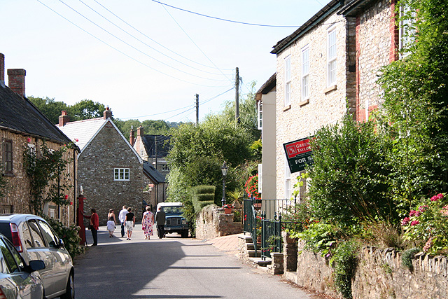 Stockland, by The King's Arms - geograph.org.uk - 227122