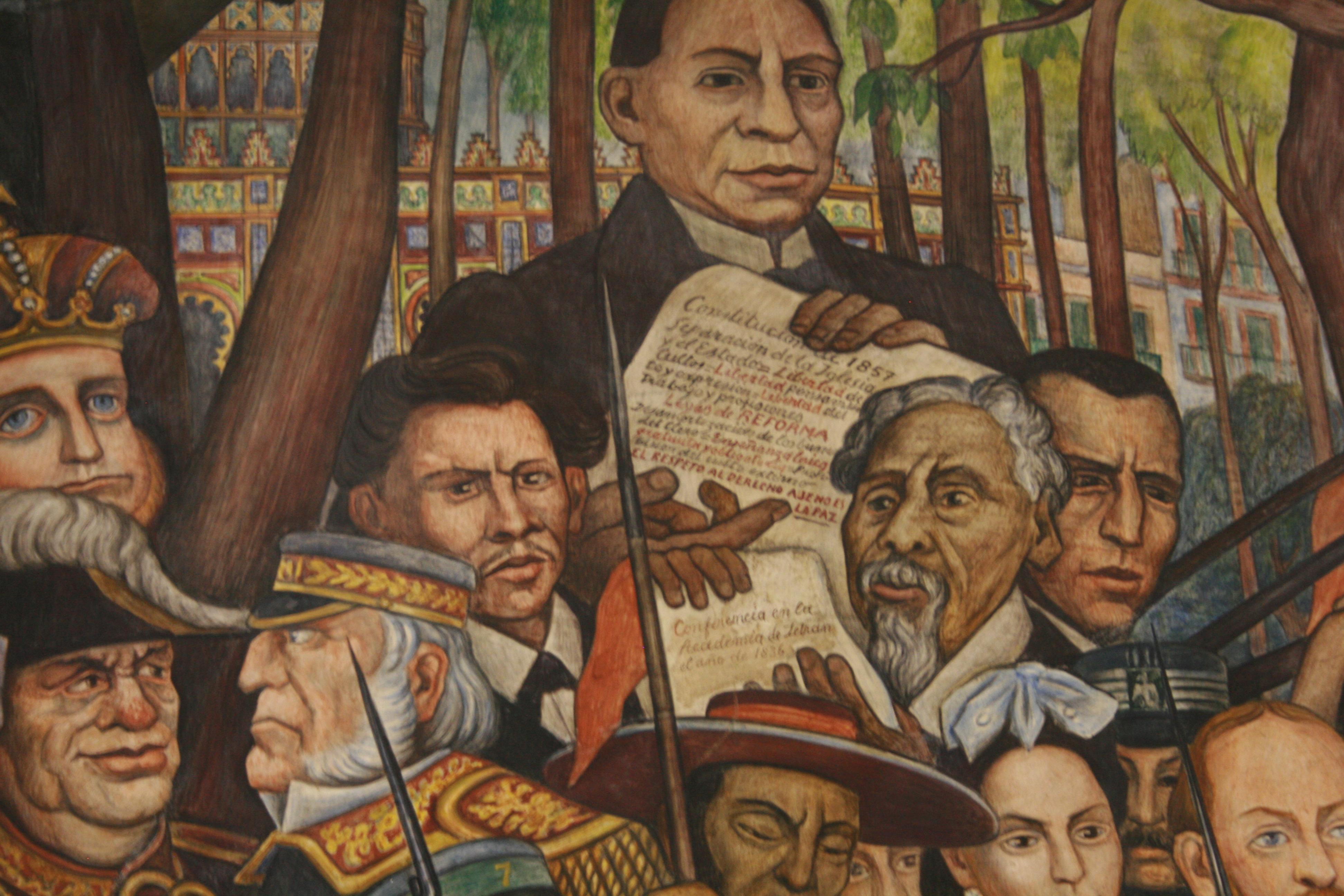 File sue o tarde dominical 1 jpg wikimedia commons for Benito juarez mural