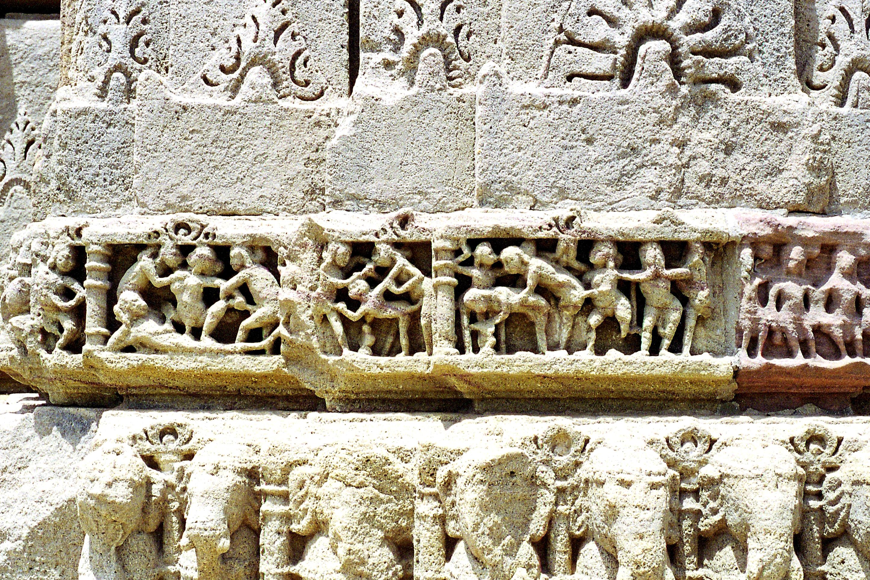 Sun Temple Modhera Erotic Sculptures