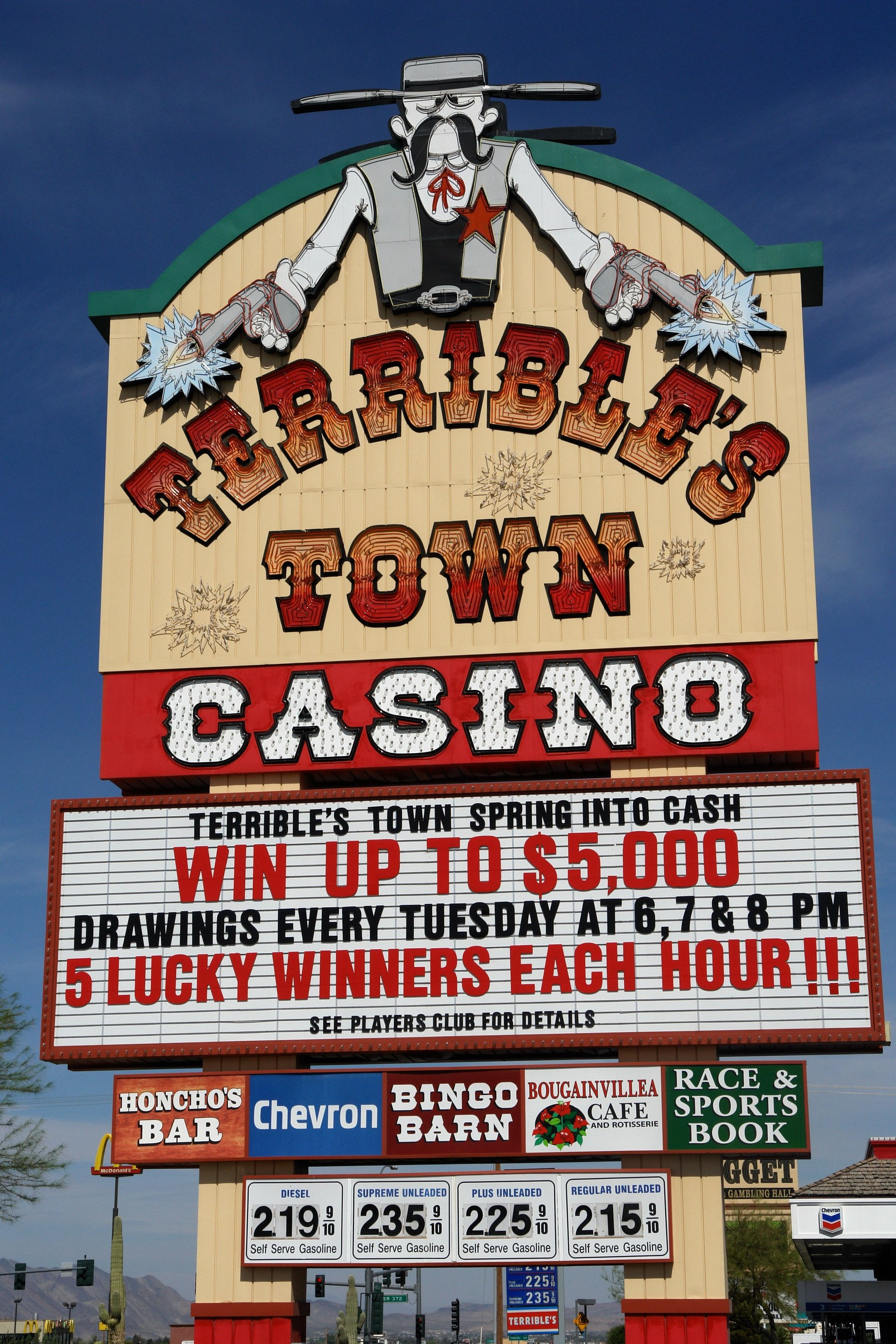 Terribles casino address internet gambling portal