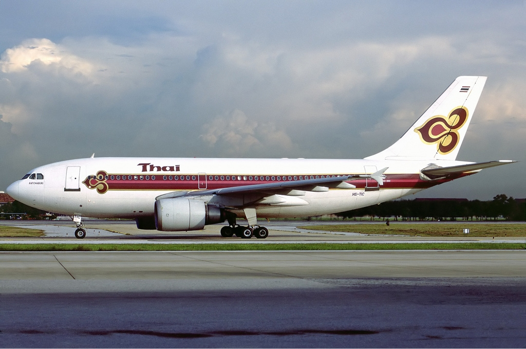 Download this Description Thai Airways International Airbus Hoppe picture