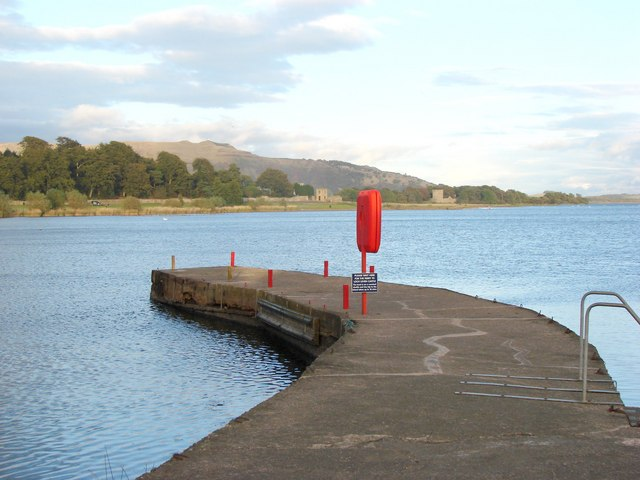 The Boathouse Pier, Loch Leven, Kinross - geograph.org.uk - 573252