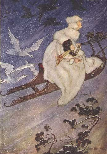 The Snow Queen By Milo Winter [Public domain], via Wikimedia Commons