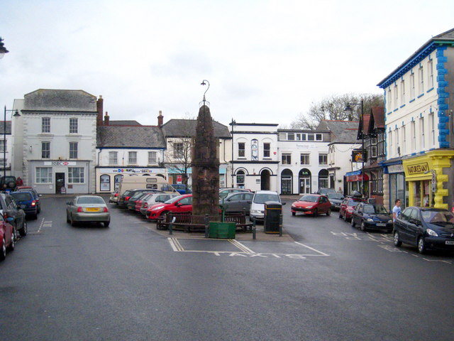 The Square in Holsworthy - geograph.org.uk - 1807620