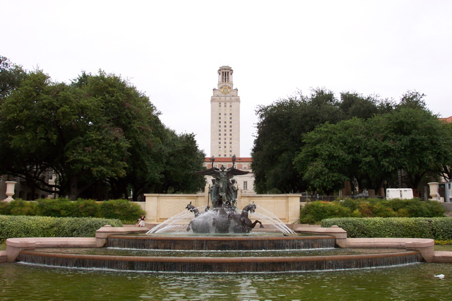 University of Texas at Austin. Courtesy of Reid Sullivan.