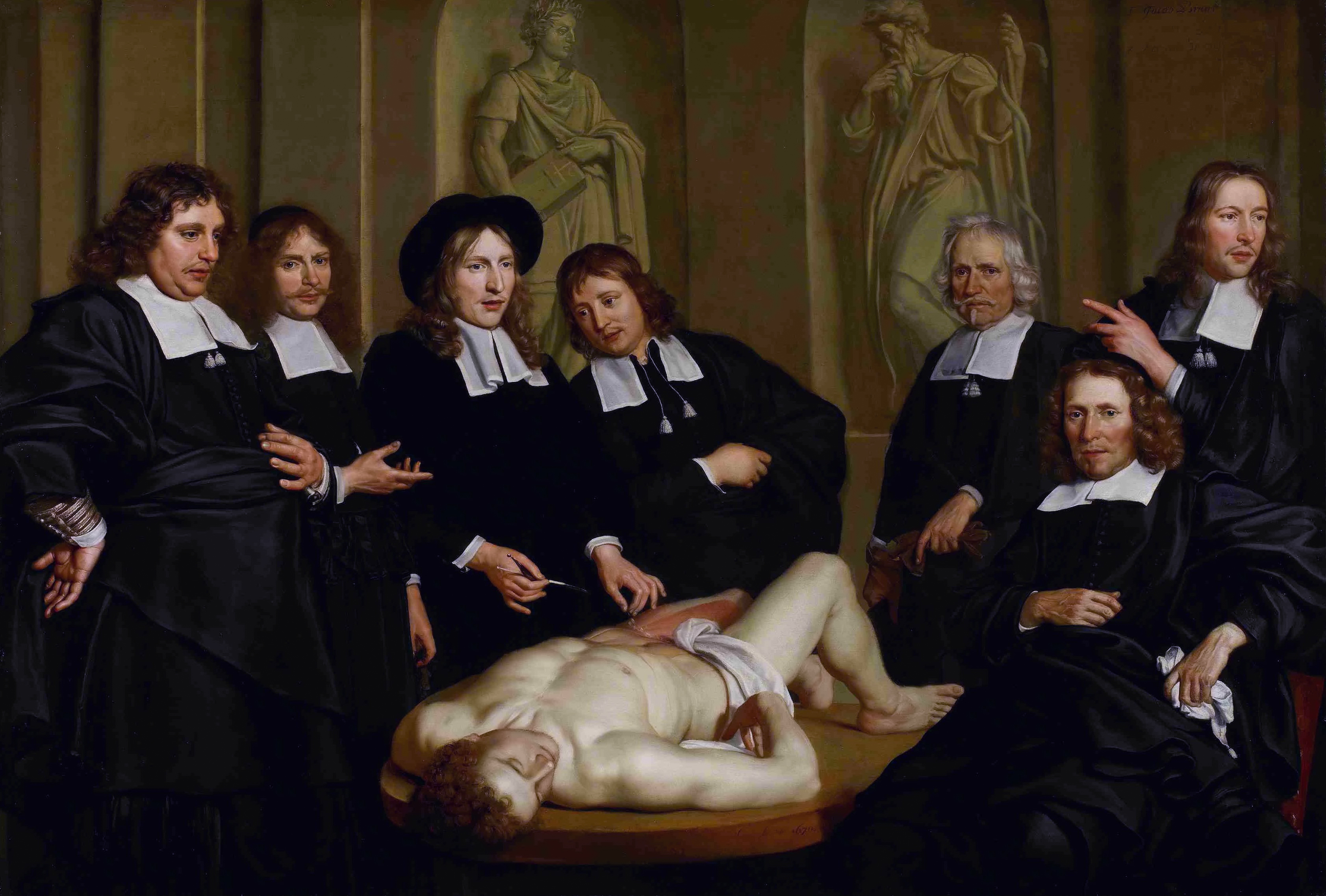 File:The anatomical lesson of Professor Frederik Ruysch, by Adriaen ...