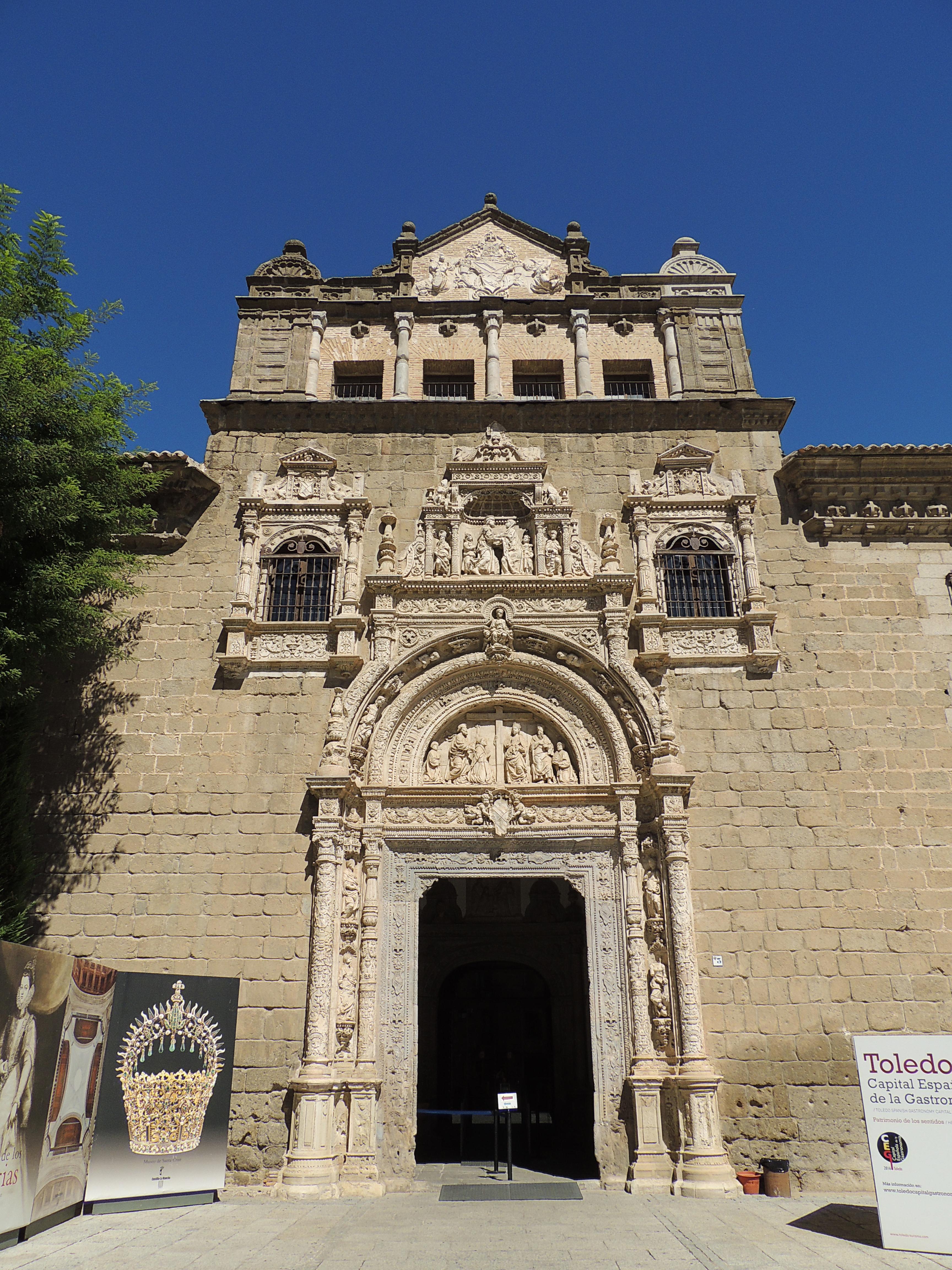 Museo De Santa Cruz.File Toledo Museo De Santa Cruz Jpg Wikimedia Commons