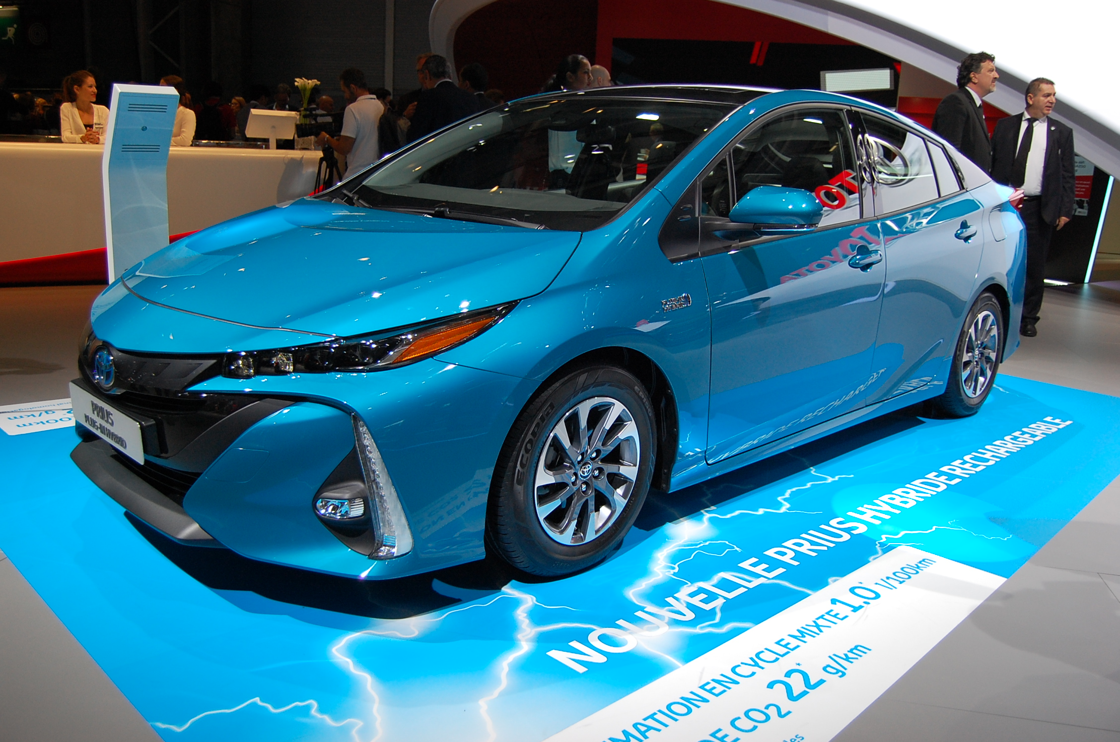 File Toyota Prius Plug In Hybrid Paris Motor Show 2016 01 Jpg