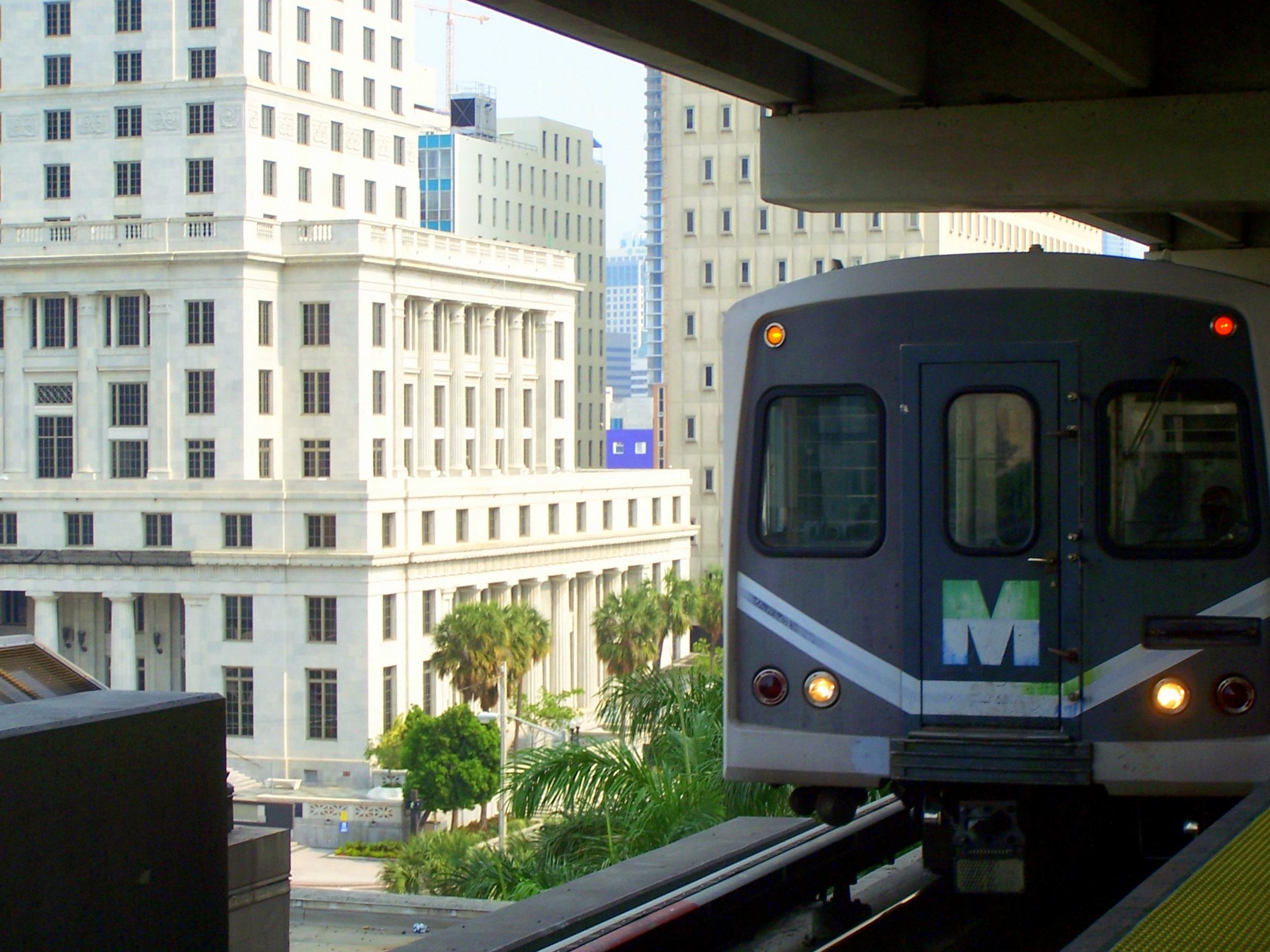 Miami Subway Map Pdf.Metrorail Miami Dade County Wikipedia