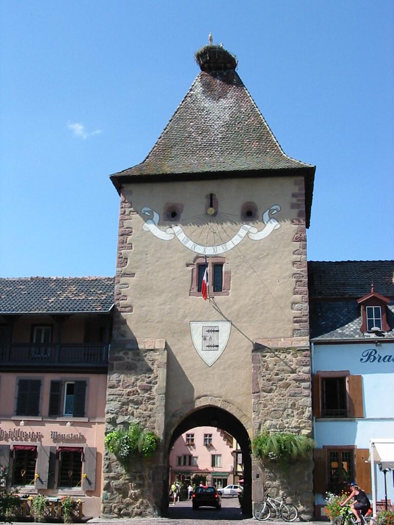 Turckheim Эльзас достопримечательности, туристический маршрут с картой, информация, как проехать