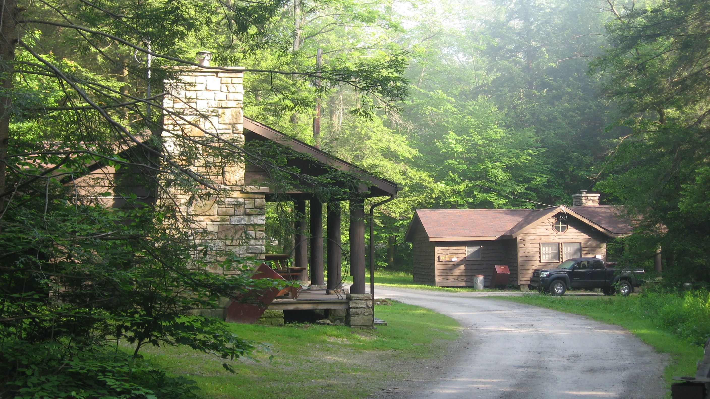 File:Two Cabins At Kooser State Park