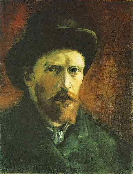 Should Van Gogh confess to being Guilty of a  Self-Portrait to Tampa Bay Police or wait for an arrest warrant in Florida?
