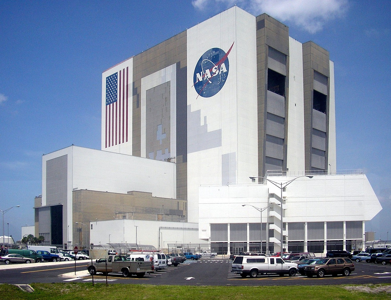 NASA Vehicle Assembly Building  Titusville Florida Atlas Obscura - Nasa museums in usa