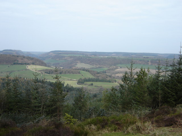 View from Highwood Brow Viewpoint - geograph.org.uk - 1428640