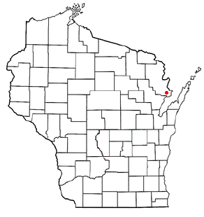 Peshtigo (town), Wisconsin City in Wisconsin, United States
