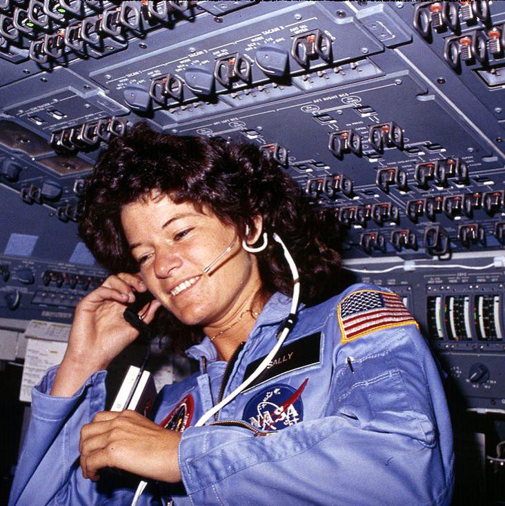 maquillaje de las astronautas