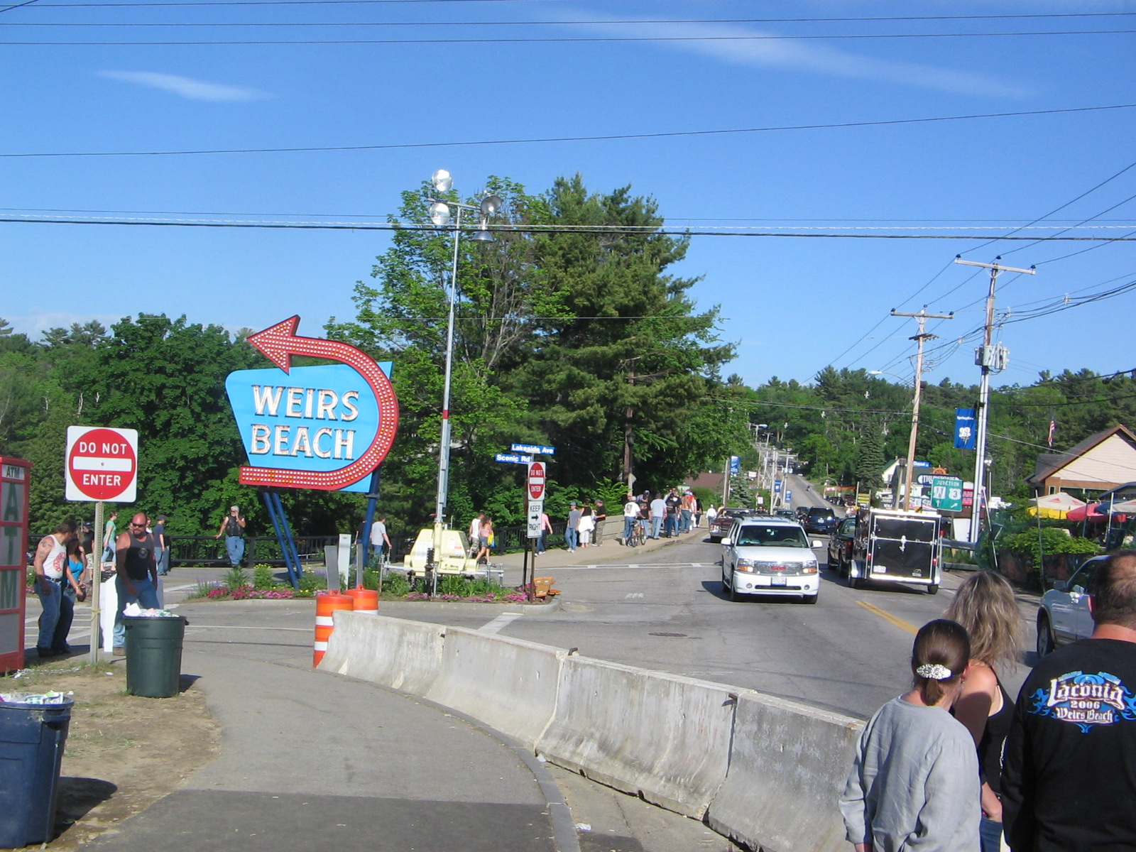 File Weirs Beach Sign Laconia Nh Jpg