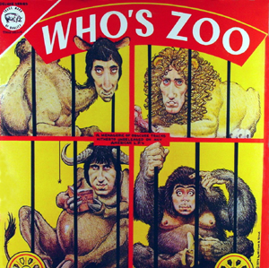 Who's Zoo compiled early singles and B-sides by The Who, which had not been commercially released in the U.S. Like several Trademark of Quality bootlegs, it featured cover artwork by William Stout.