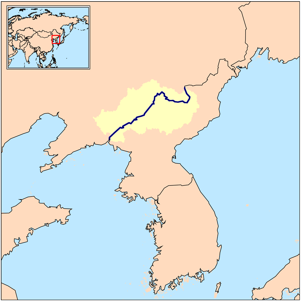 Yalu River Map File:Yalurivermap.png   Wikimedia Commons Yalu River Map