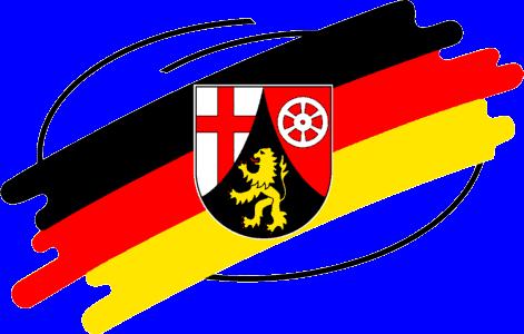 Wappen coat of arms RLP Rheinland-Pfalz-Zeichen Logo Rhineland-Palatinate Sign