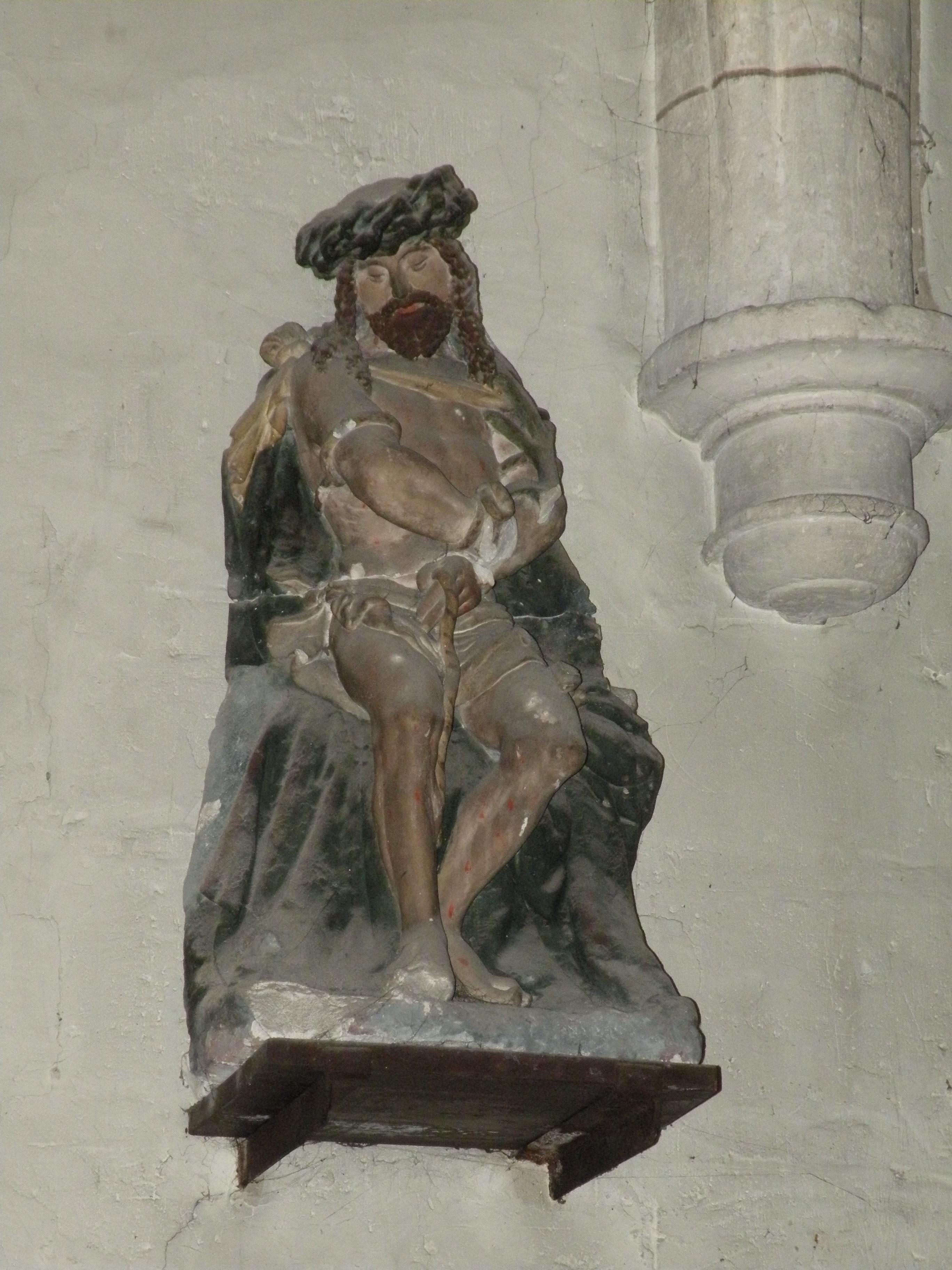 fileglise saint lucien de mru christ aux liensjpg aglise saint lucien de