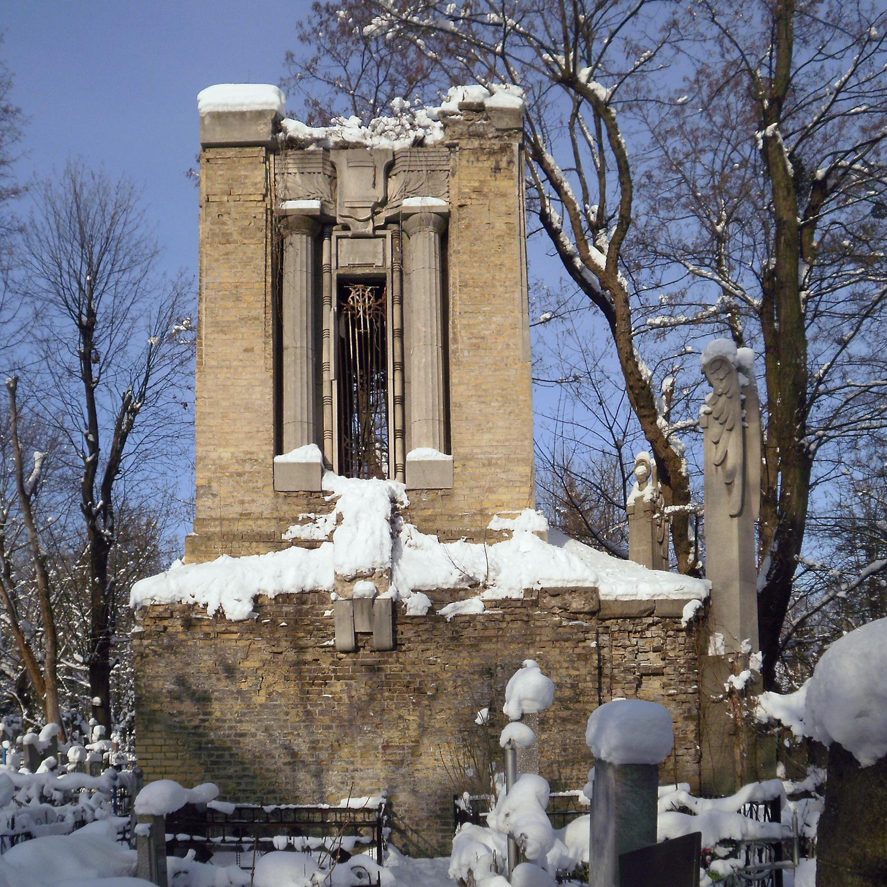 File:Склеп на Байковом кладбище.JPG - Wikimedia Commons