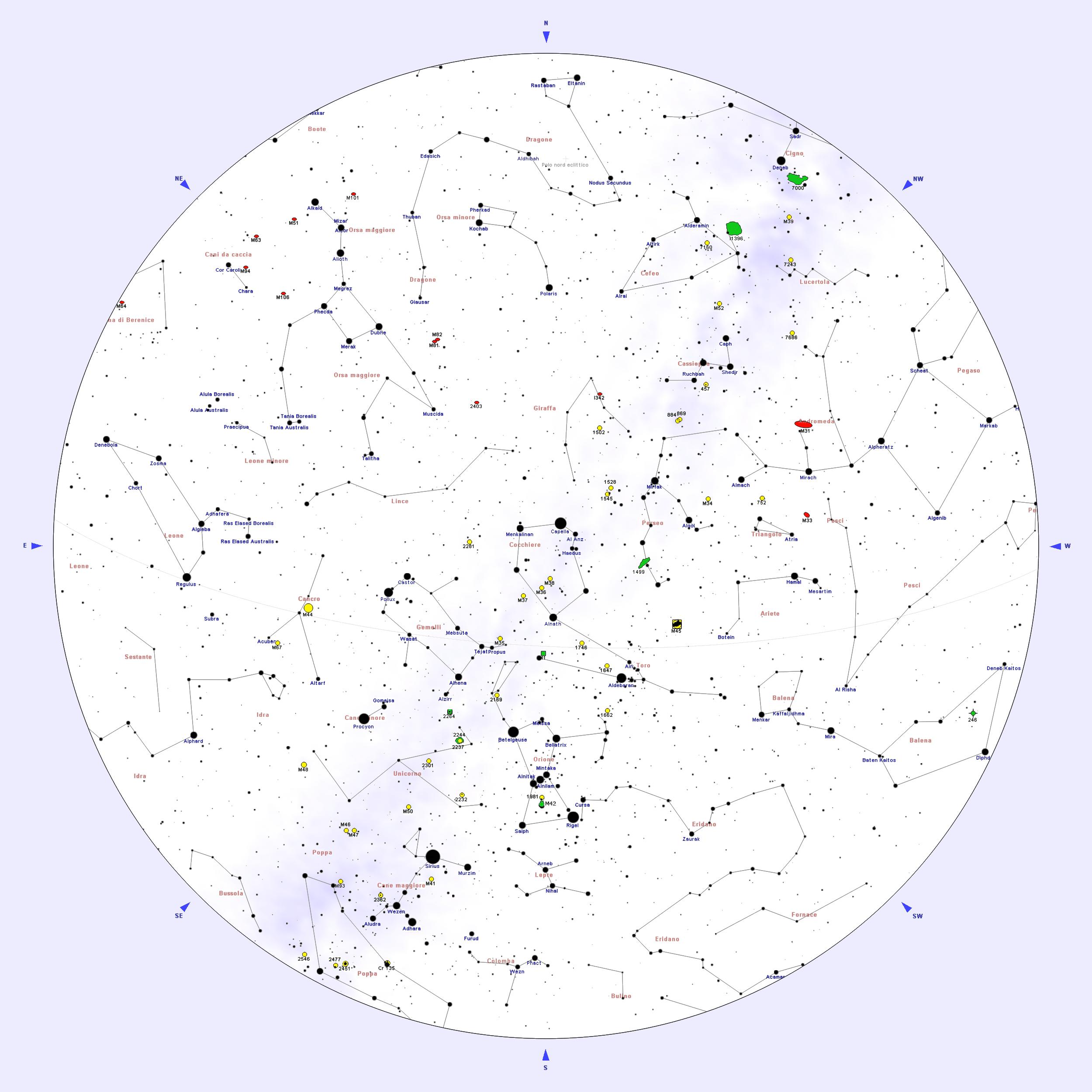 Portale Astronomia Cielo Del Mese Gennaio Wikipedia