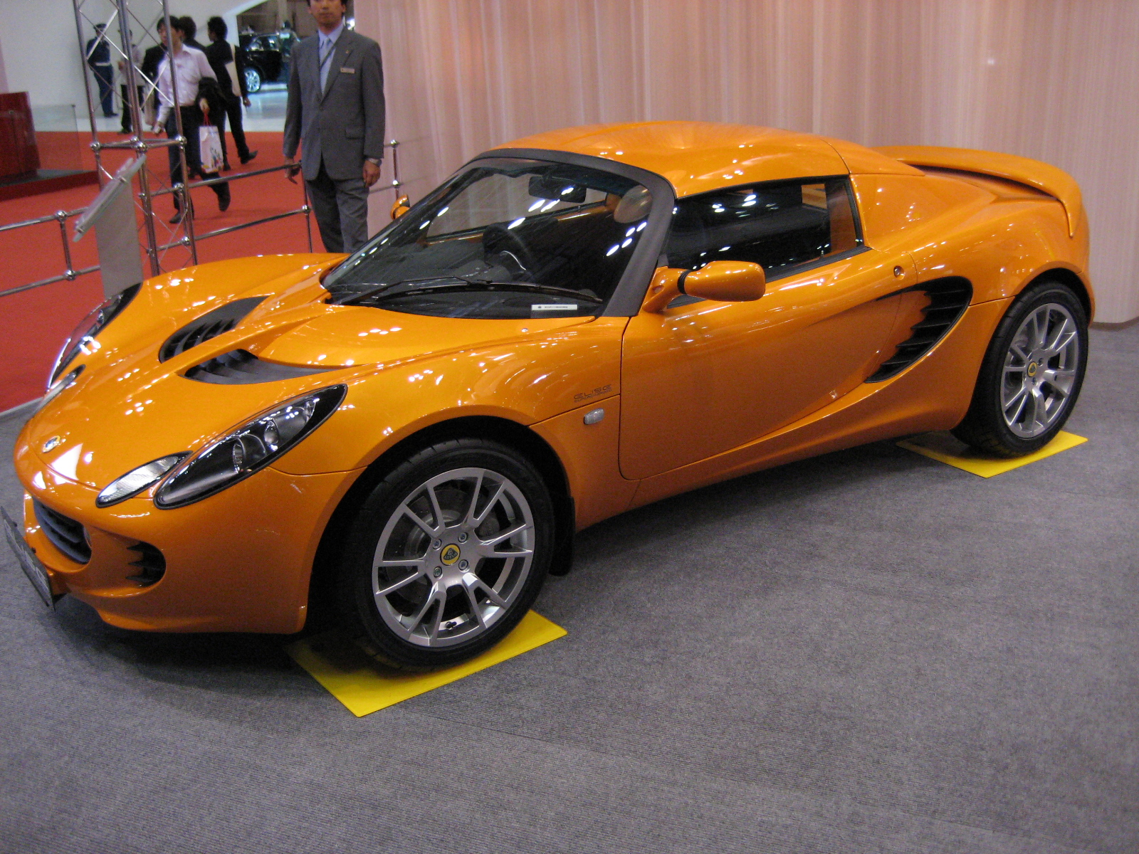 file 2007 lotus elise sc jpg wikimedia commons. Black Bedroom Furniture Sets. Home Design Ideas