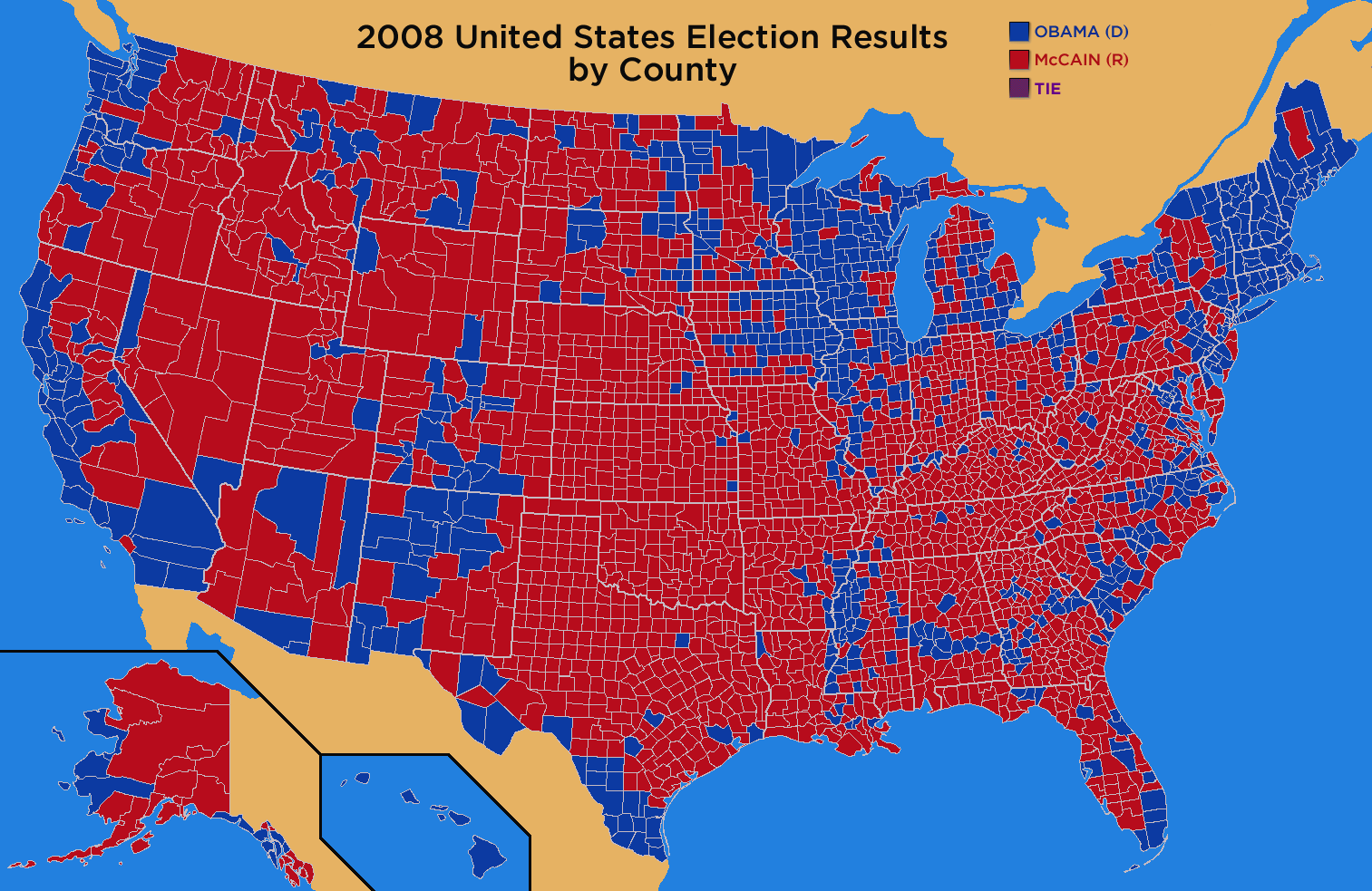 File General Election Results By CountyPNG Wikimedia Commons - Map of county votes for us election