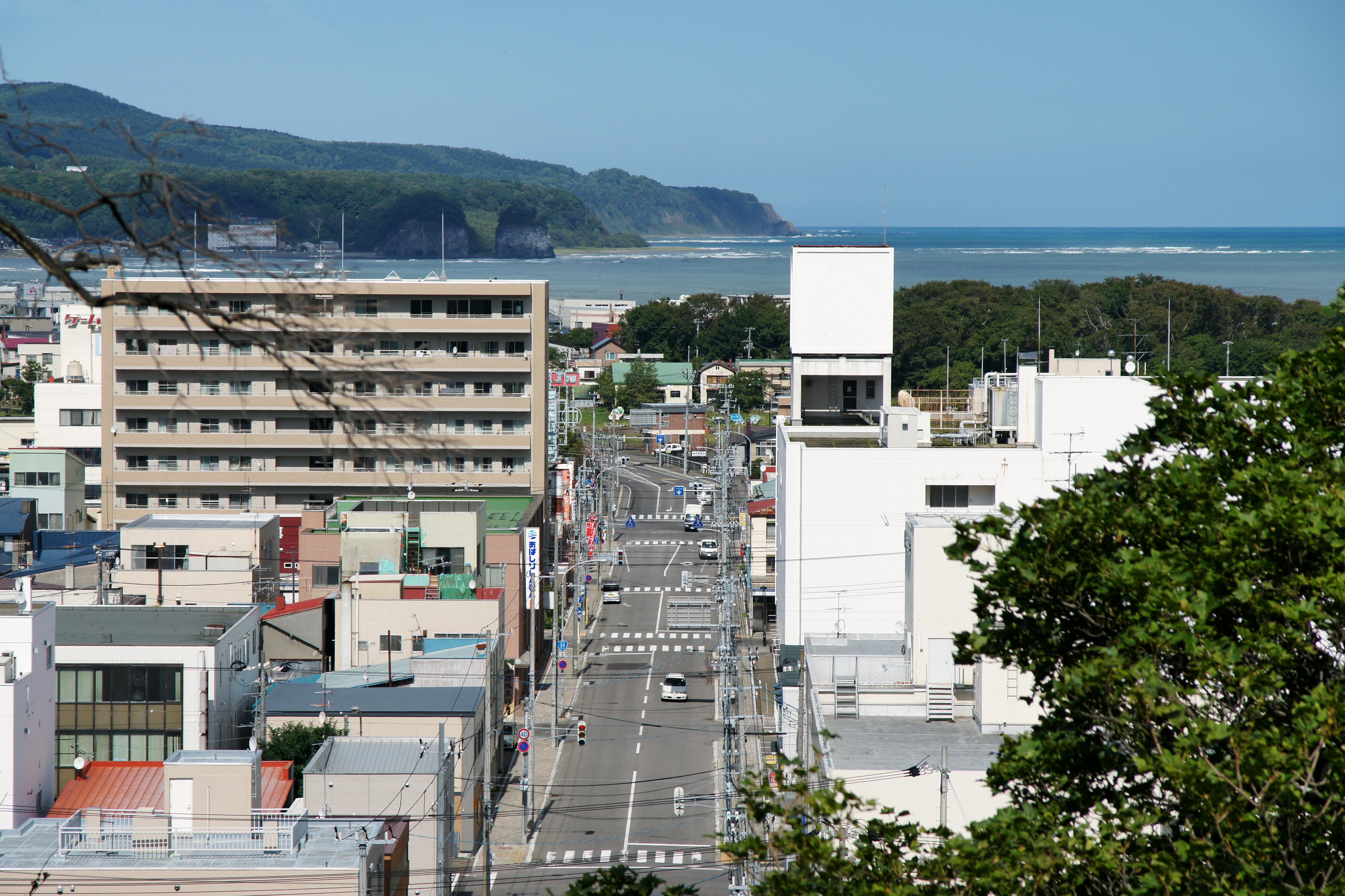 File Abashiri City View From Katsuragaoka Park01n Jpg Wikimedia