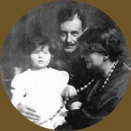 Manon, Walter e Alma Gropius