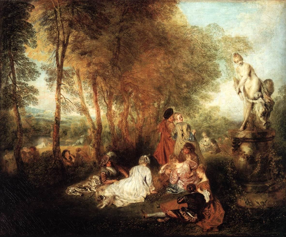 Barok en rococo relatie met absolutisme typeringen en
