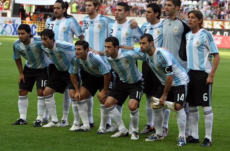 Argentina National Team  Squad World Cup 2002 JapanSouth