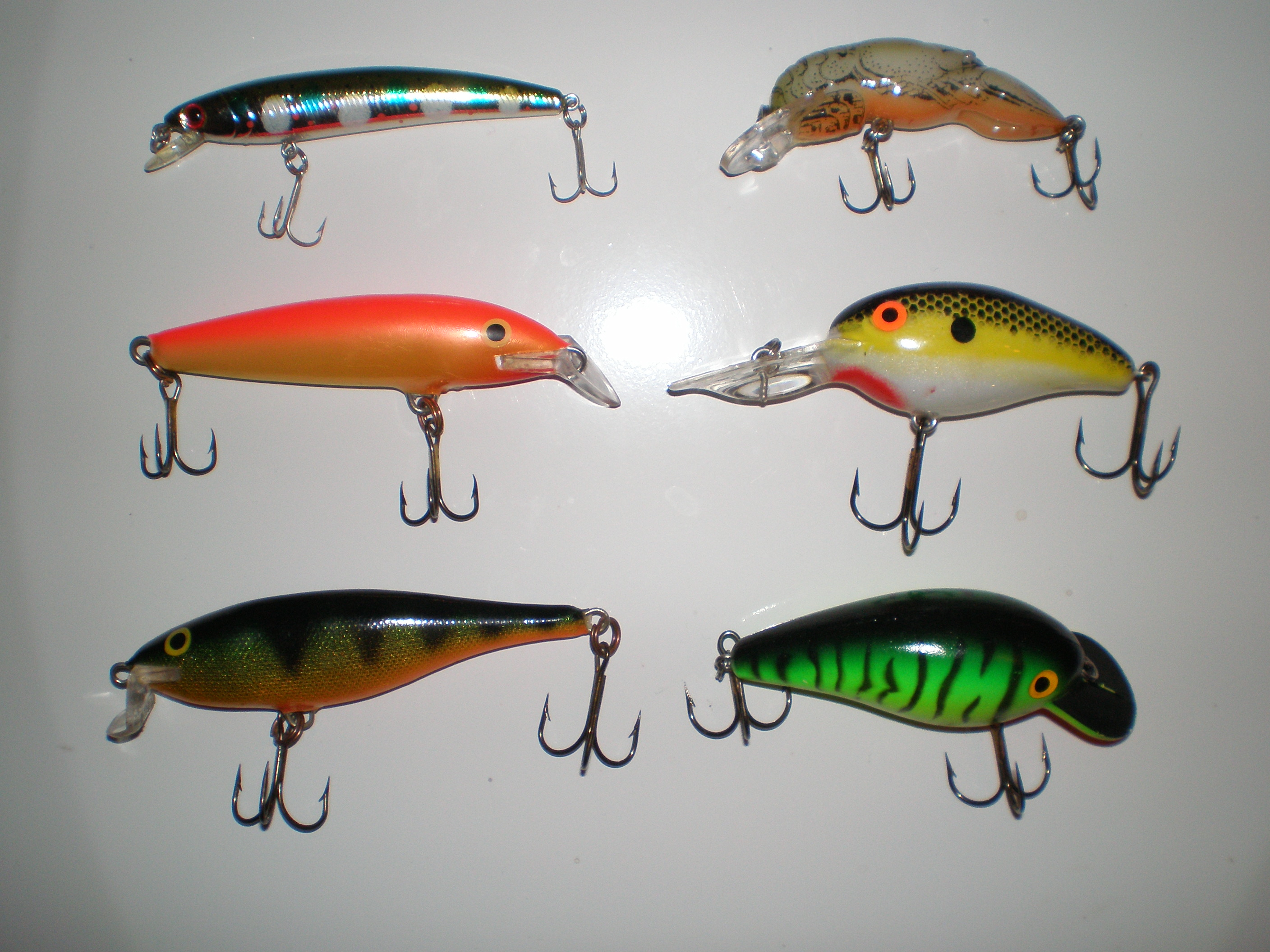 What type of lures are these fishing talks for Types of fishing lures