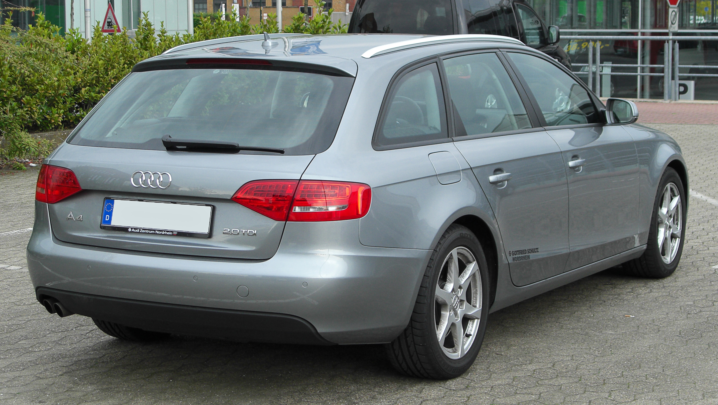 file audi a4 avant 2 0 tdi b8 rear wikipedia. Black Bedroom Furniture Sets. Home Design Ideas