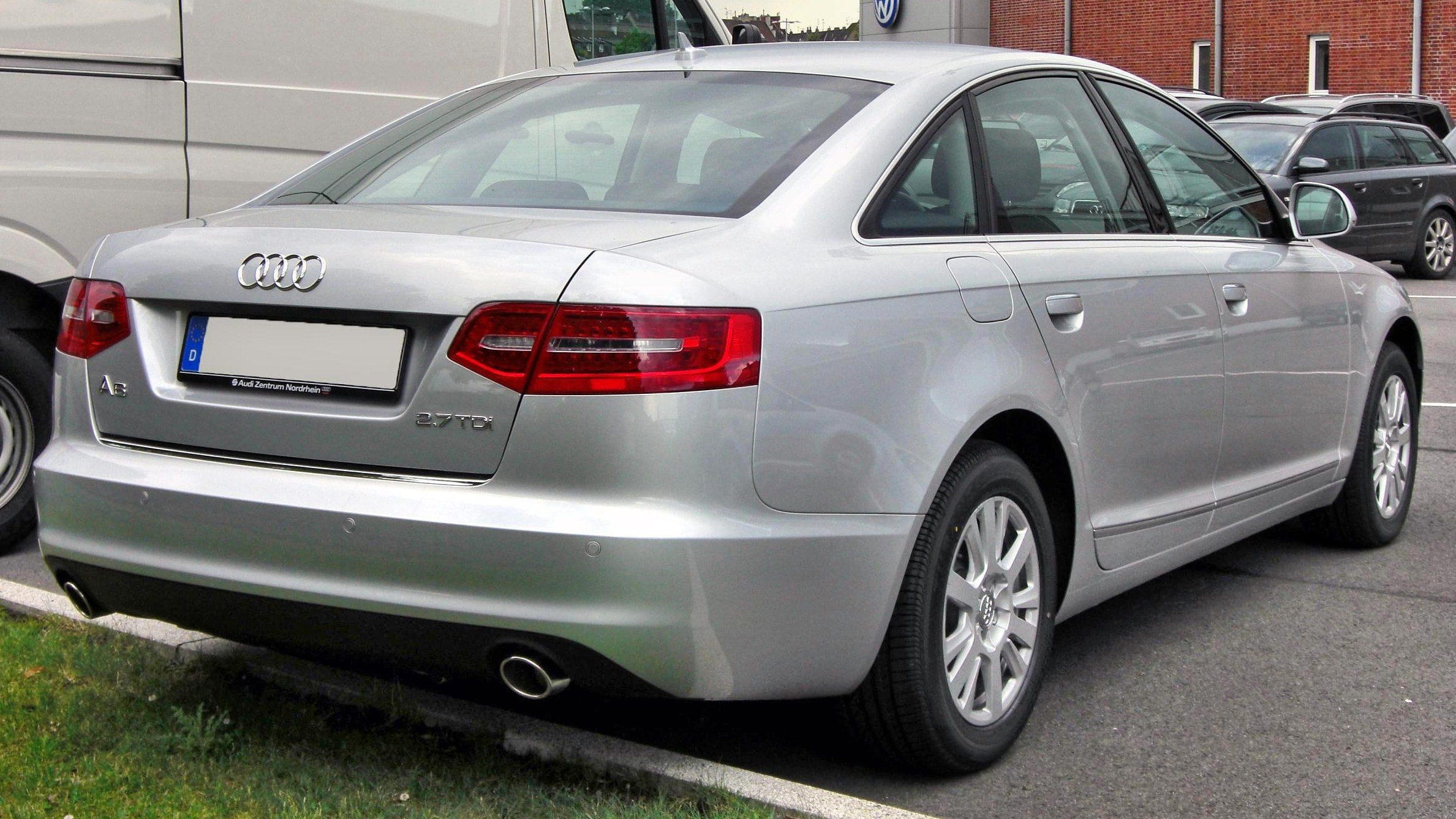 File:Audi A6 C6 Facelift 20090712 rear.JPG - Wikipedia