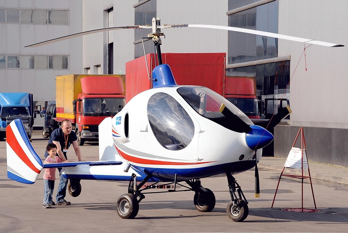 Russian Gyroplanes Gyros-2 Smartflier - Wikipedia