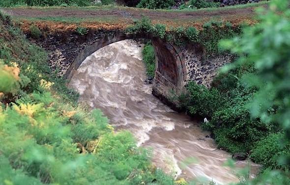 Ազատ գետը վարարել է