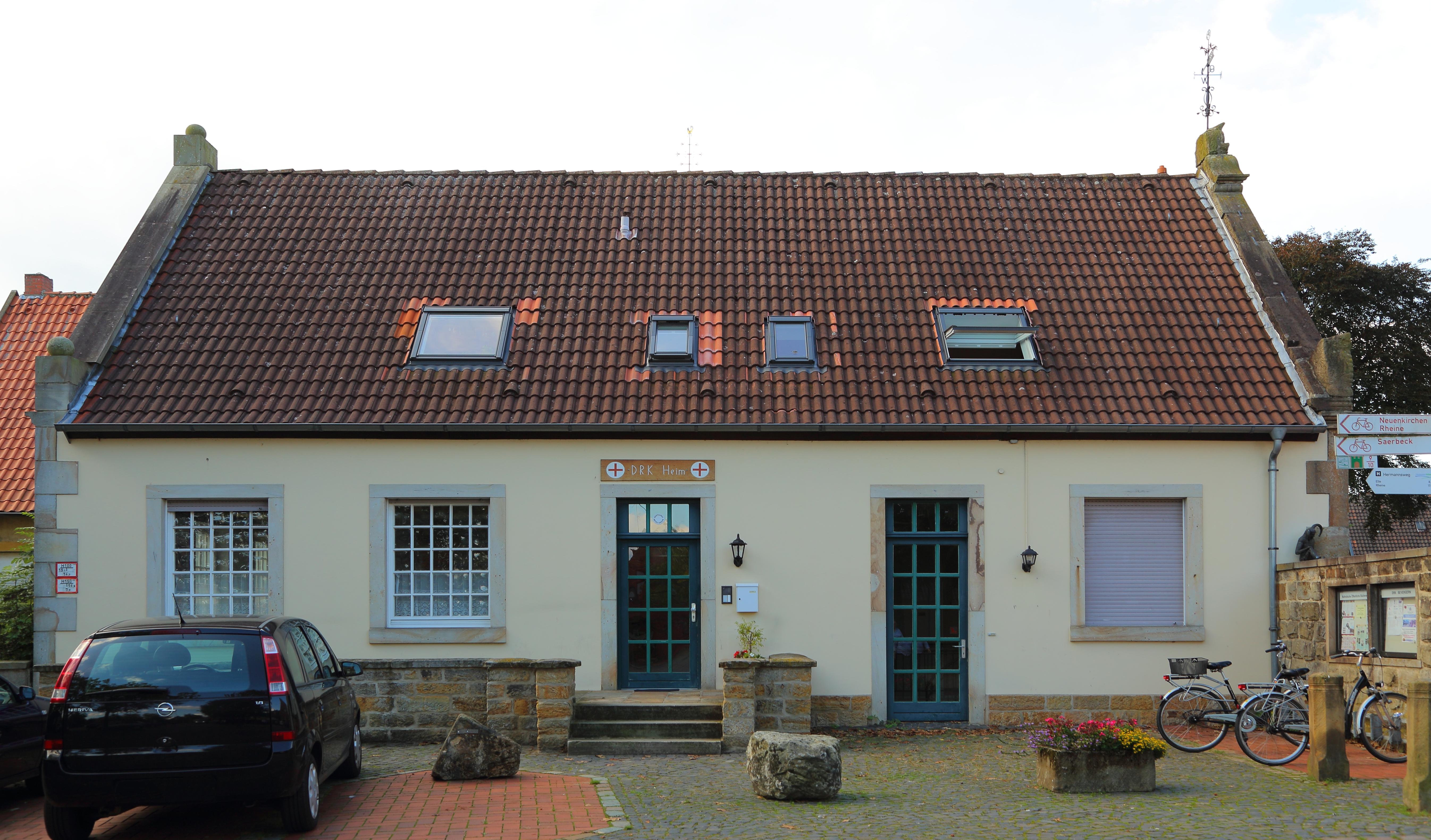 Unglaublich Garage Am Haus Foto Von File:bevergern Markt 8 02.jpg
