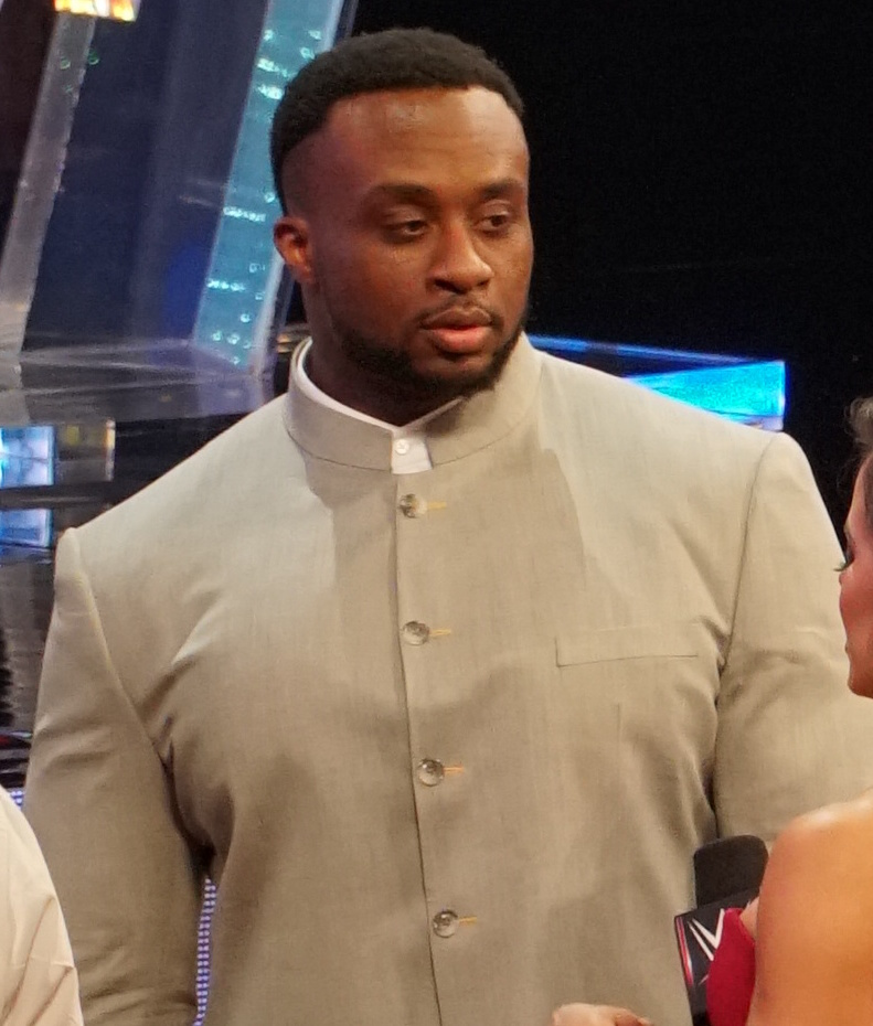 The 32-year old son of father (?) and mother(?) Big E Langston in 2018 photo. Big E Langston earned a  million dollar salary - leaving the net worth at 2 million in 2018