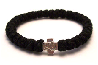 File Black Prayer Bracelet Komboskini Chotki Rope Jpg