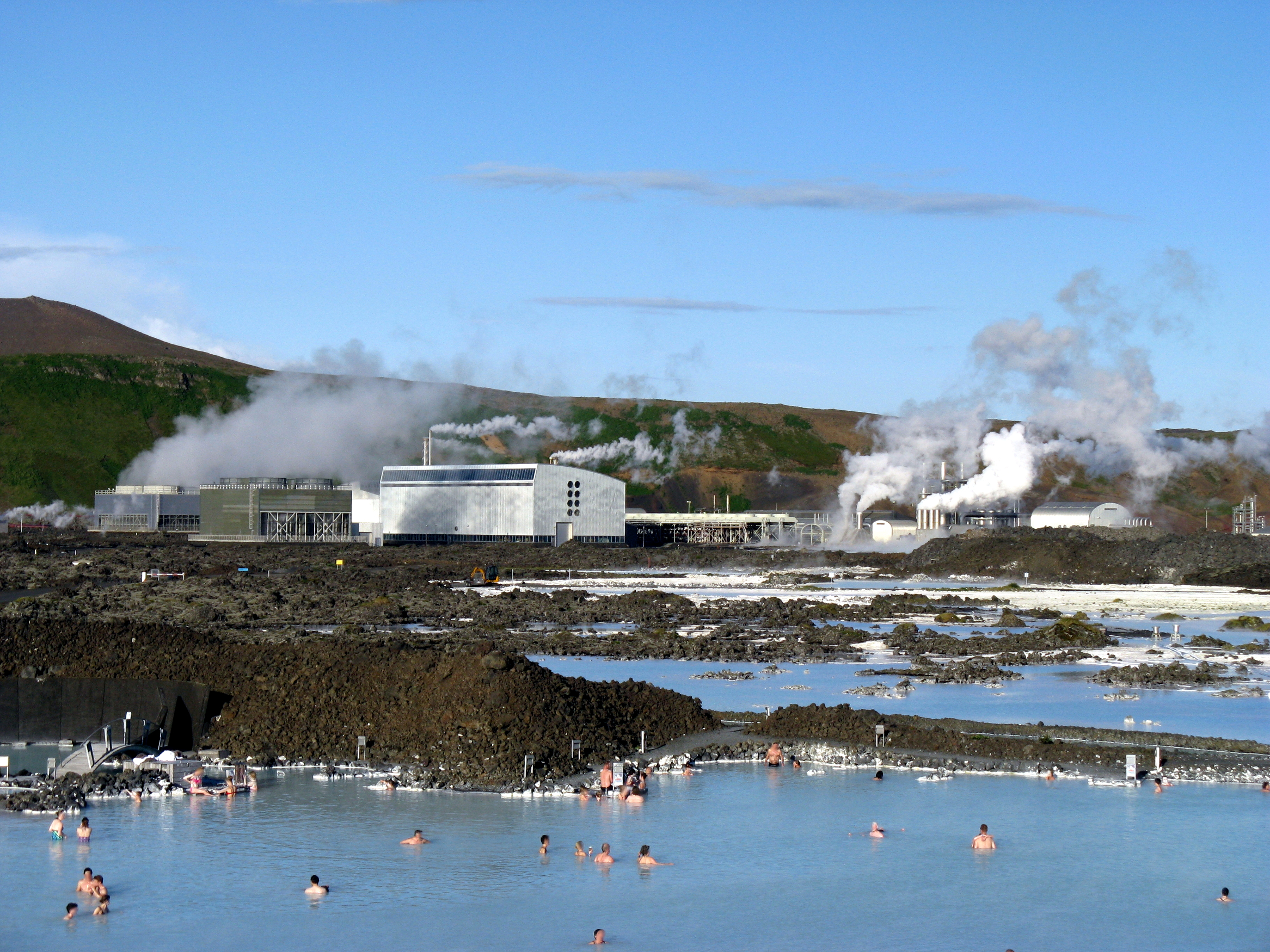 The blue lagoon, the hot spring - where is it History, description, photo