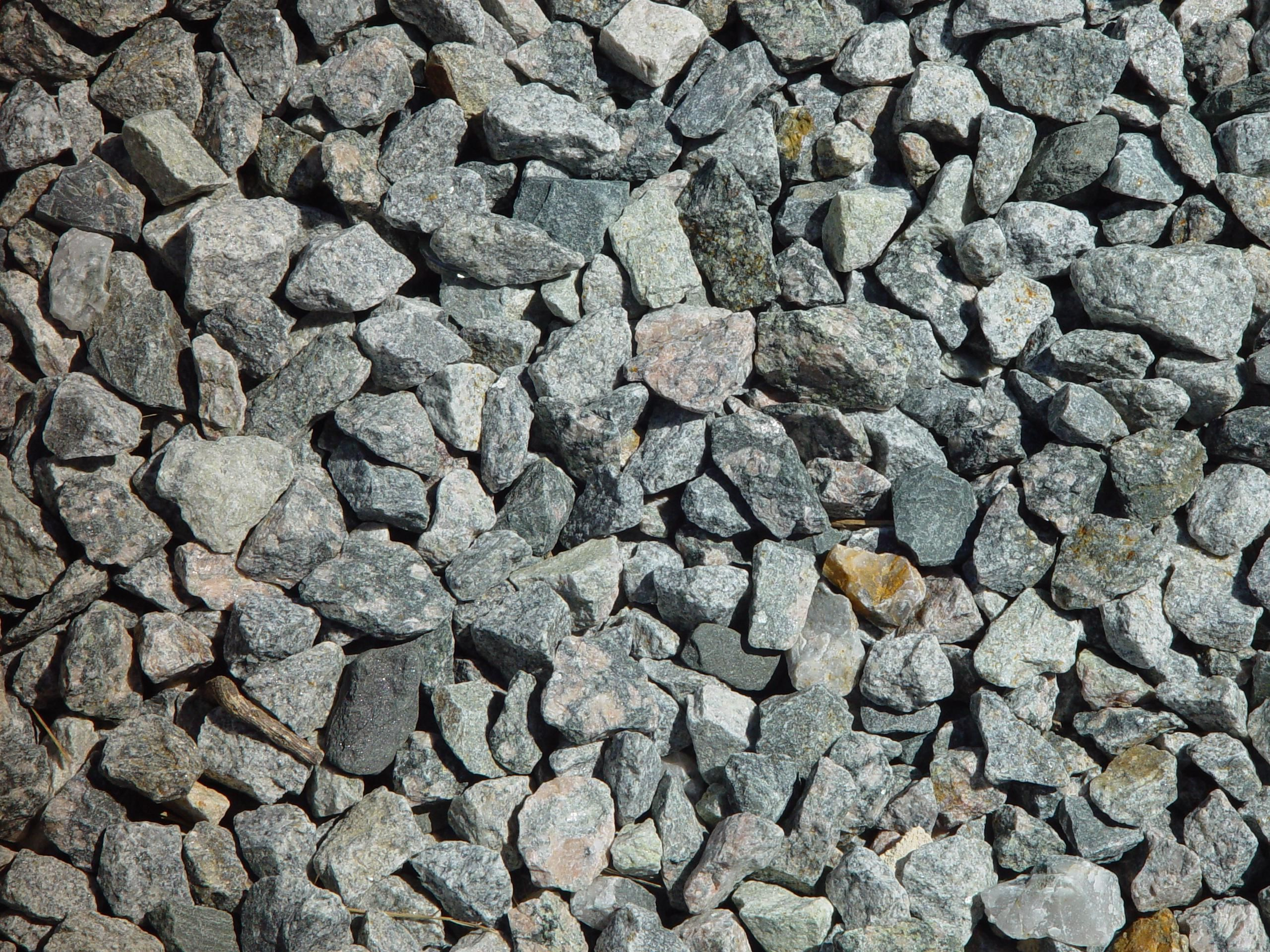 Types Of Gravel : File bluemetal coarse granite gravel texture g