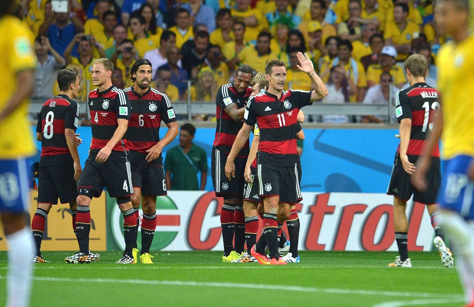 deutschland vs brasilien
