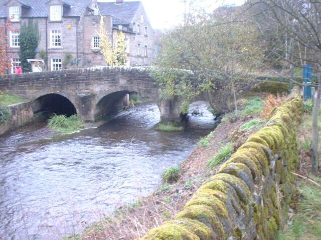 Bridge at Baslow - geograph.org.uk - 447010