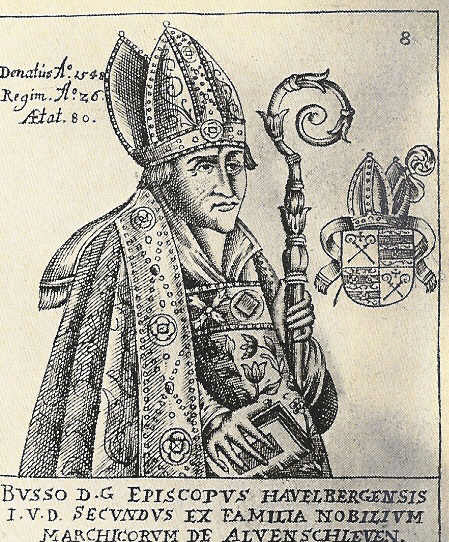 Busso von Alvensleben, der letzte Bischof von Havelberg