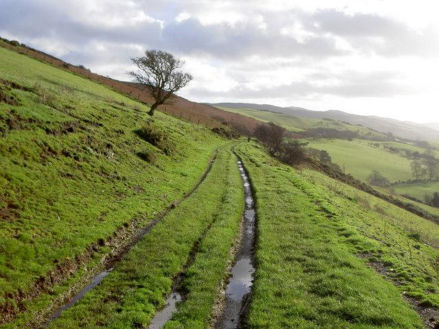 Byway near Penycloddiau - geograph.org.uk - 624530