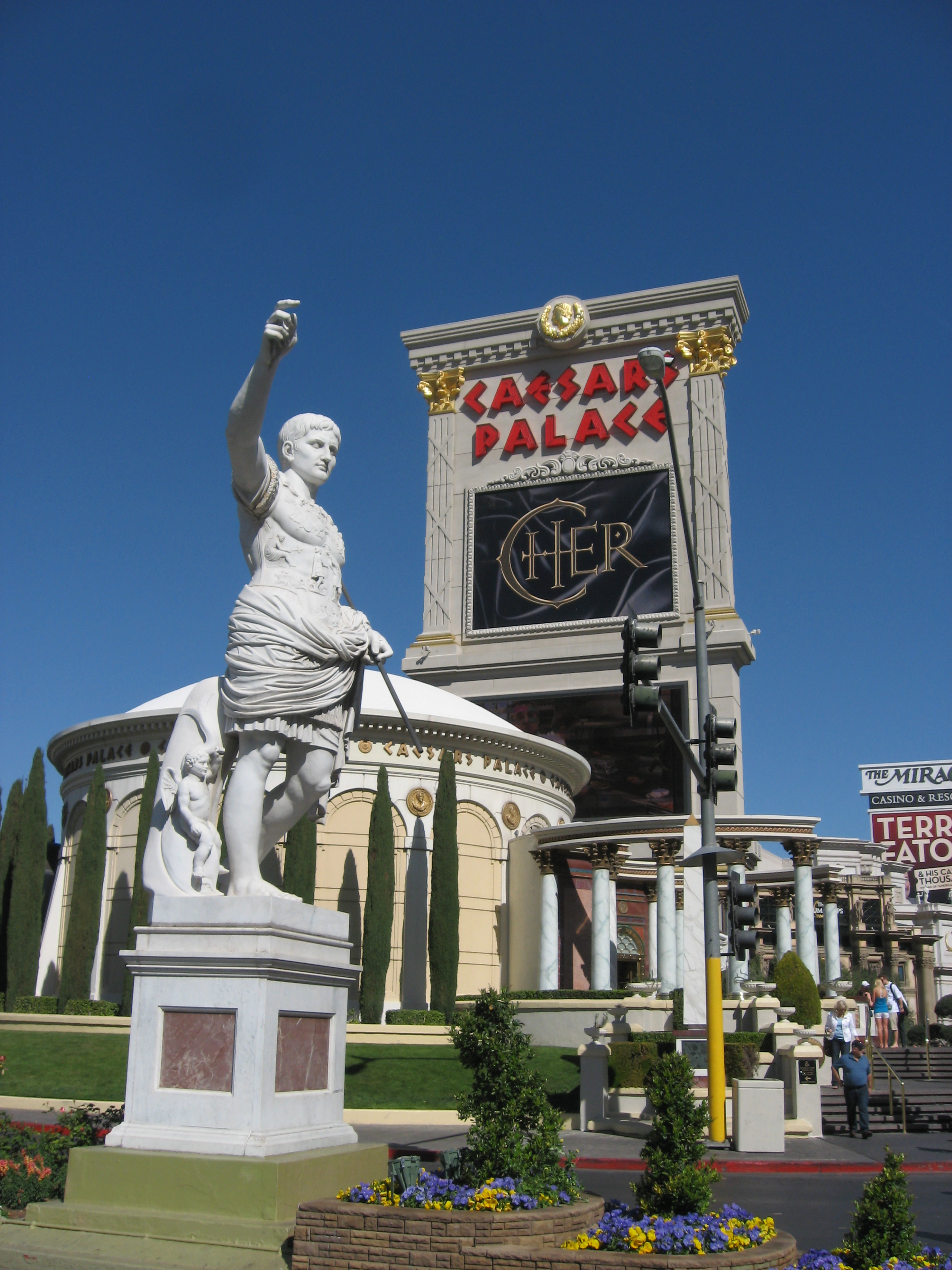 caesars palace location
